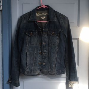 Madewell denim jean jacket small